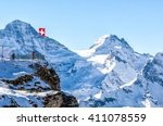 balcony overlooking the swiss...