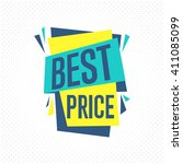 special offer sale tag discount ... | Shutterstock .eps vector #411085099