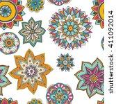 seamless pattern texture.... | Shutterstock . vector #411092014