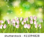 Spring Flowers. Tulip Bouquet...