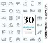 Set Of Household Appliances...