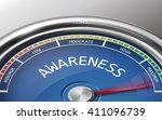 awareness conceptual 3d...   Shutterstock .eps vector #411096739