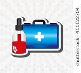 medical healthcare design  | Shutterstock .eps vector #411122704