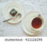 afternoon tea   Shutterstock . vector #411126298