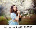Beautiful Romantic Brunette...