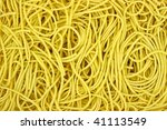 close view of crispy chow mein...   Shutterstock . vector #41113549