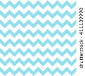 Blue Seamless Zigzag Pattern