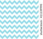 Blue Seamless Zigzag Pattern