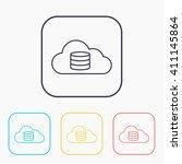 cloud computing icon  vector...