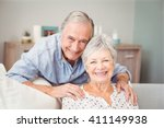 portrait of romantic senior man ... | Shutterstock . vector #411149938