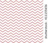 Red Seamless Zigzag Pattern