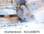 Industrial Worker Making...