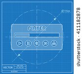 player ui icon. blueprint style