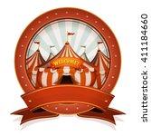 Vintage Circus Badge And Ribbon ...