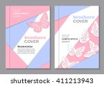 modern vector templates for... | Shutterstock .eps vector #411213943