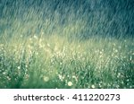 Wonderful Heavy Rain Shower In...