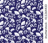 vintage vector seamless pattern ...   Shutterstock .eps vector #411264433