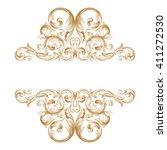 Premium Gold Vintage Baroque...