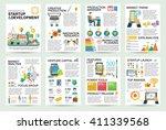 modern flat infographics of... | Shutterstock .eps vector #411339568