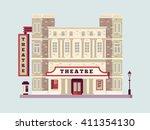Theater Building Design Flat