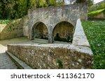 italy  tuscany  volterra  porta ...   Shutterstock . vector #411362170