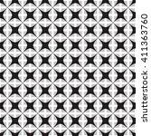 vector monochrome seamless... | Shutterstock .eps vector #411363760