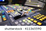 video switcher of television... | Shutterstock . vector #411365590