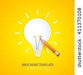idea. design of progress bar ... | Shutterstock .eps vector #411370108