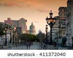 havana  cuba   april 6  2016 ... | Shutterstock . vector #411372040