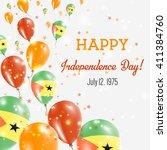 sao tome and principe... | Shutterstock .eps vector #411384760