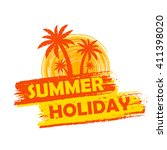 Summer Holiday Banner   Text I...