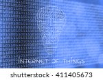 internet of things  electronic... | Shutterstock . vector #411405673