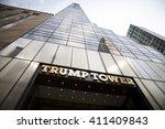 new york   mar 27 2016  low... | Shutterstock . vector #411409843