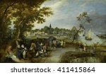 Landscape With Figures And A...
