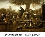 The Quack  By Jan Steen  1650...