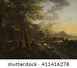 Italian Landscape With A...