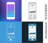 mobile wireframe app ui kit...