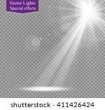 vector spotlight.star.glare | Shutterstock .eps vector #411426424