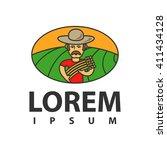 farmer logo | Shutterstock .eps vector #411434128