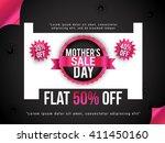 banner flyer or poster of... | Shutterstock .eps vector #411450160