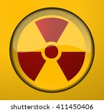radioactive background sign ... | Shutterstock .eps vector #411450406