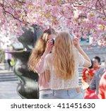 stockholm  sweden   april 24 ... | Shutterstock . vector #411451630