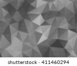 grunge halftone background.... | Shutterstock .eps vector #411460294