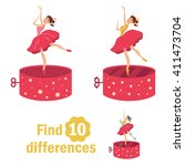 Find 10 Differences. Dancer In...