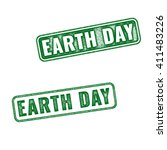 Two Green Realistic Earth Day...