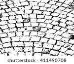 cobblestone paving texture | Shutterstock .eps vector #411490708