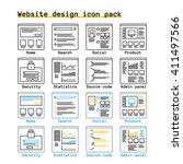 website design interface...