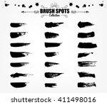 vector large set hand drawn...   Shutterstock .eps vector #411498016