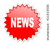 news red tag  sticker  label ... | Shutterstock . vector #411515530