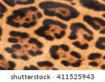 Faux Leopard Fur Texture...